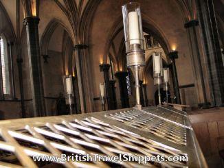 Temple Church Choir Stalls