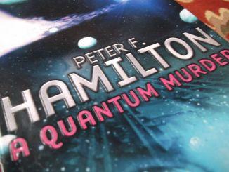 Peter F Hamilton - A Quantum Murder Book Cover