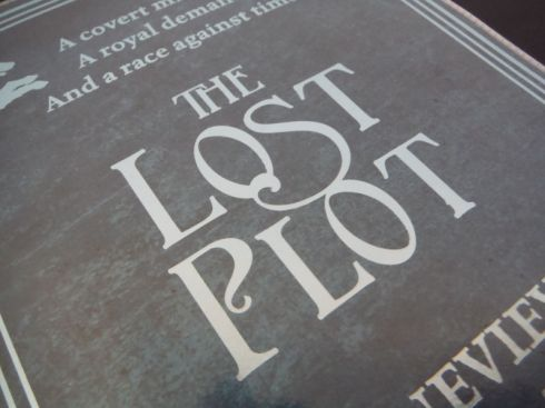 The Lost Plot by Genevieve Cogman Book Cover