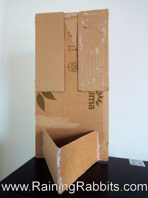 Cardboard Desk/Table Partition