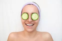 cucumber is very helpful in reducing dark circles