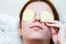 Potato is one of the best natural bleaching agents that remove dark circles