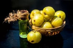 Amla oil increased hair growth