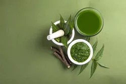 neem oil has amazing natural moisturizers that nourish your hair.