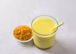 Turmeric and milk is a magical  way to brighten your skin