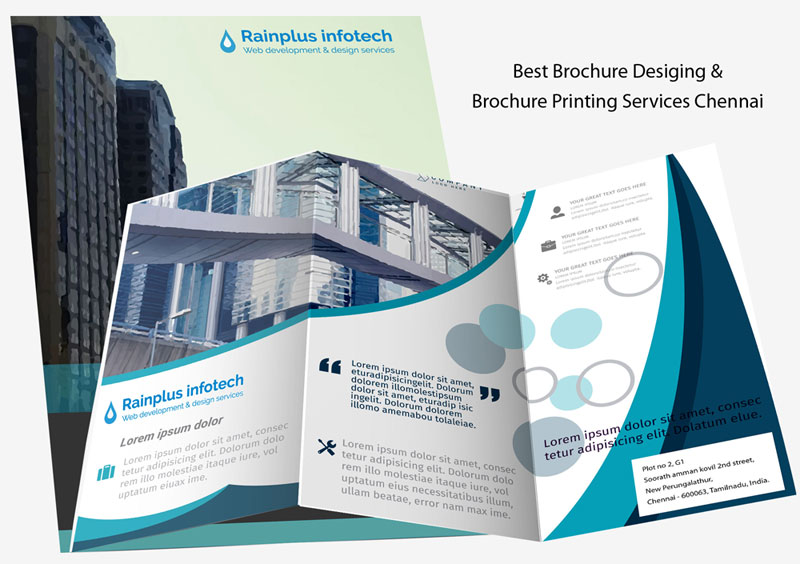 Brochure designing company in chennai brochure design for Brochure for web design company
