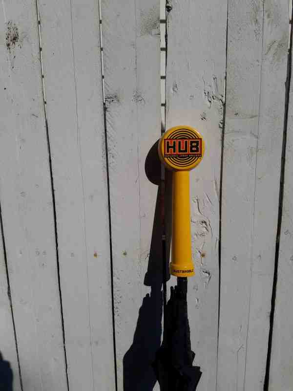 Hopworks (HUB) Tap Handle Umbrella