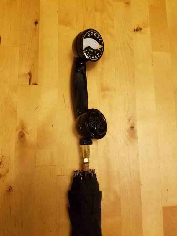 Goose Island 312 Urban Wheat Tap Handle Umbrella