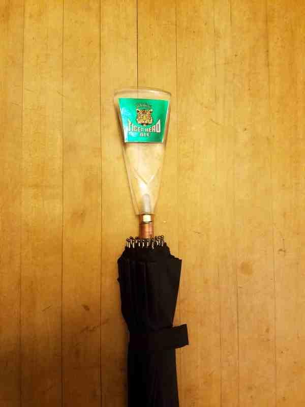Schmidt's Tiger Head Ale Tap Handle Umbrella