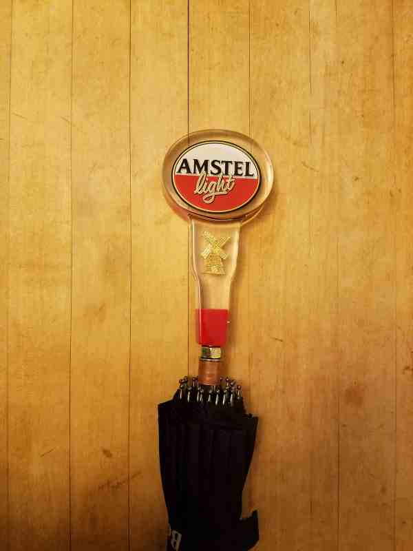 Amstel Light Tap Handle Umbrella