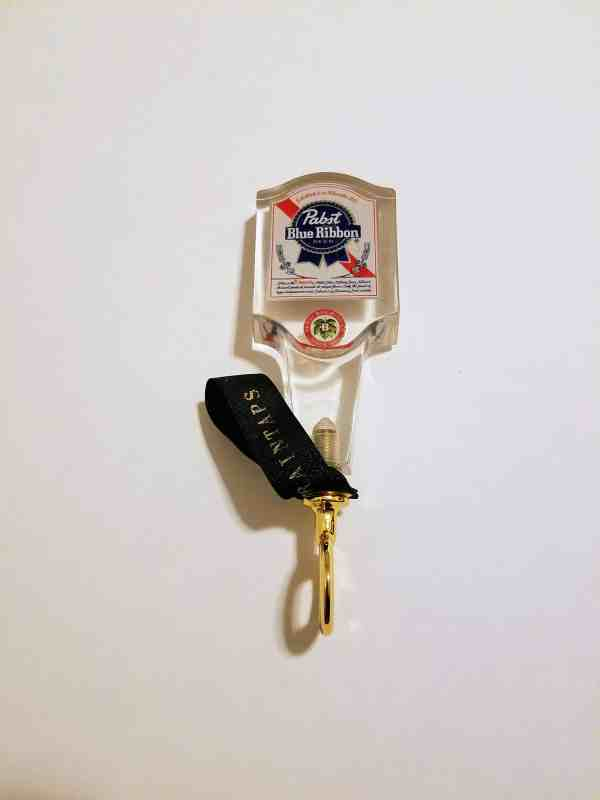vintage pbr tap handle bottle opener (lucite v2)
