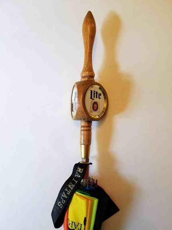 Miller Lite Vintage Tap Handle Umbrella