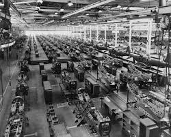 Heavy manufacturing plant