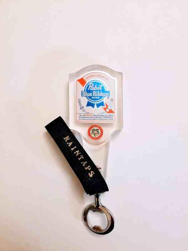Vintage Pabst Blue Ribbon Tap Handle repurposed as a Bottle Opener