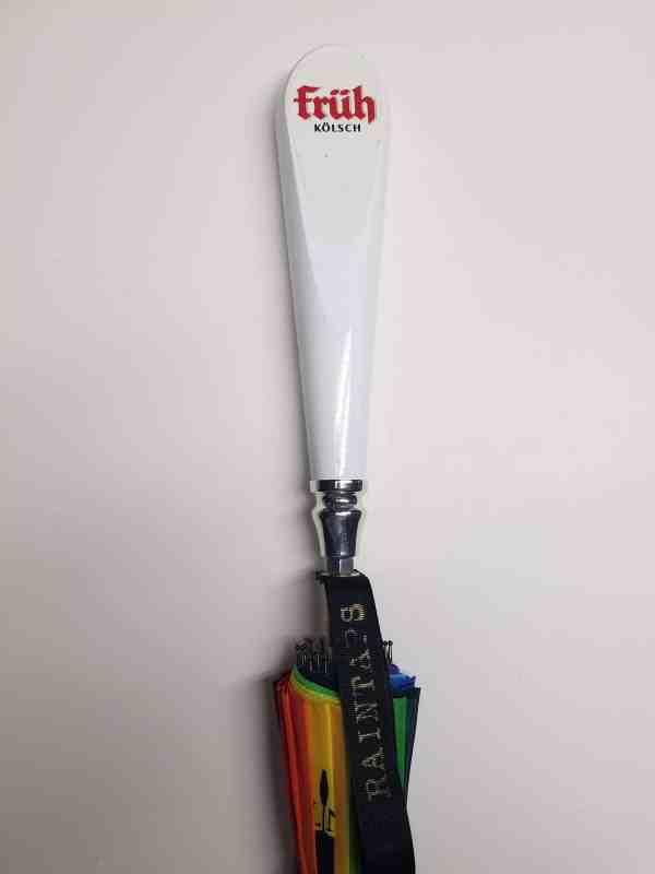 Custom Fruh Umbrella Kolsch Tap Handle