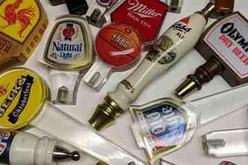 Assorted Vintage Beer Tap Handles