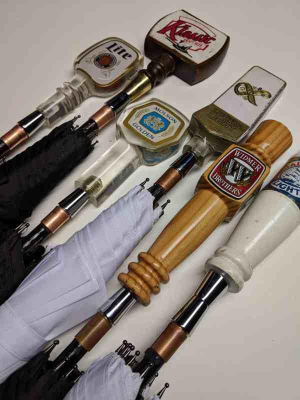 Blind Box Vintage Beer Tap Handle Mini Umbrellas