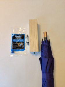 RainTaps City Umbrella Kit - Purple Rain