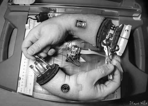 MC MECHANIC - HAND FIXING HAND - Homage to MC Escher - Shane Willis photography