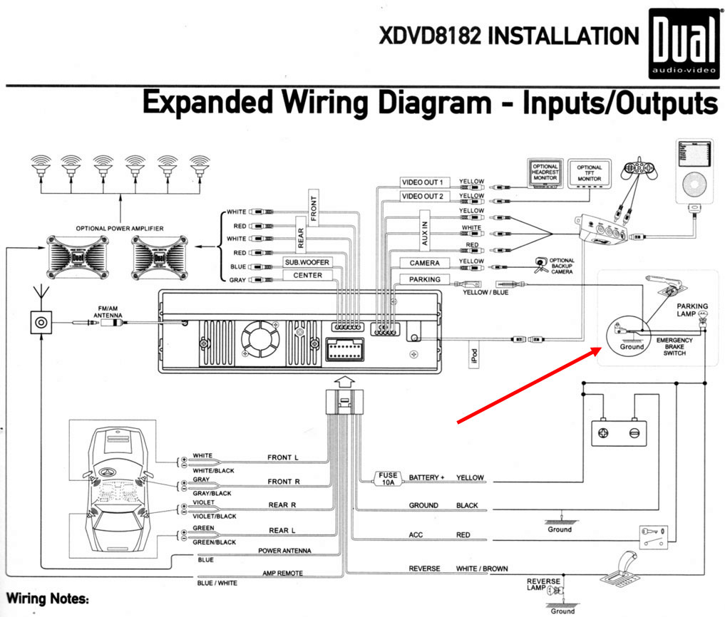 Factory Stereo Wiring Harness Diagram For 1999 Subaru Legacy 1999