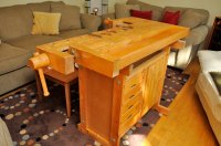 Wood Sjobergs Woodworking Bench PDF Plans