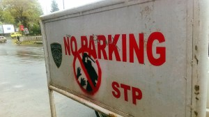 no parking by small axe