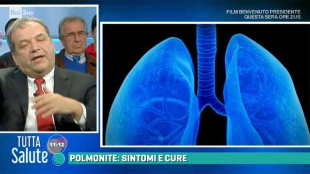 Risultati immagini per tutta salute polmonite rai
