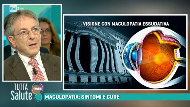 Risultati immagini per tutta salute maculopatia