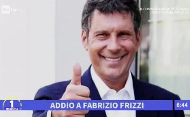 Unomattina S2017 18 La Scomparsa Di Fabrizio Frizzi