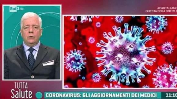 Risultato immagini per coronavirus tutta salute rai