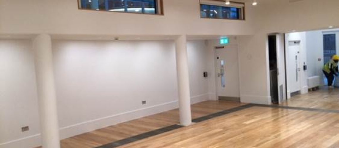 access flooring in museum of the home by raised floor solutions