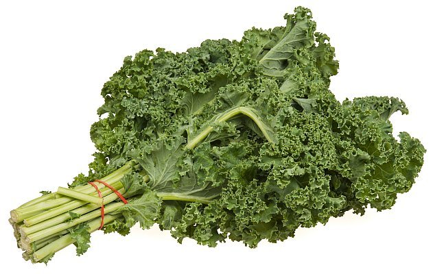 Kale Is Rich In Iron