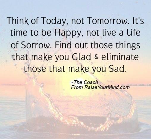 Thinking You Sad Time