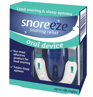 Snoreeze oral device in box