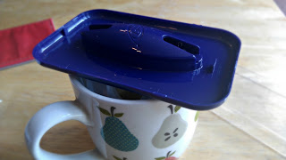 Snoreeze oral device in hot water