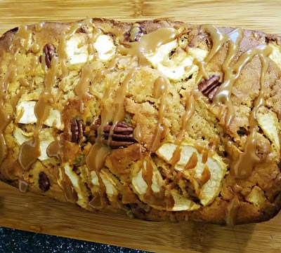 toffee apple pecan cake
