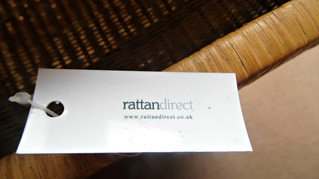 rattan direct rustic wood storage rack with label showing