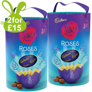 two large roses eggs for £15