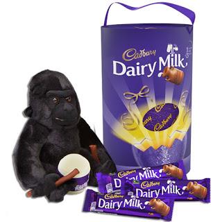 cadbury egg with gorilla £15