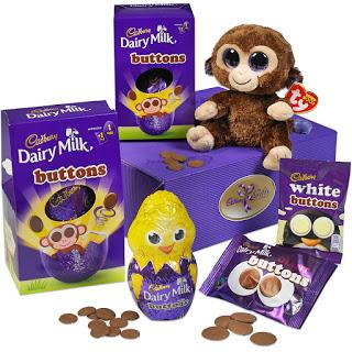 Butttons eggs gift set £18