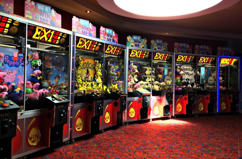 arcade grab machines
