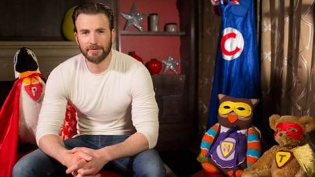 Chris Evans on Cbeebies