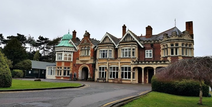 Bletchley park mansion