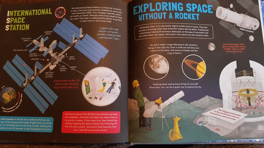 inside the book, Discover our solar system.