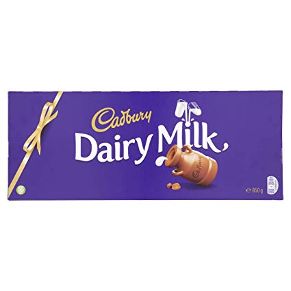 bar of Cadbury Dairy Milk