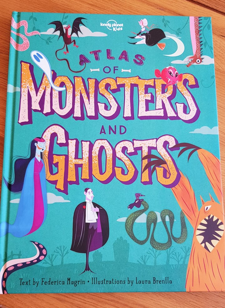 Atlas of Monsters and Ghosts Front cover