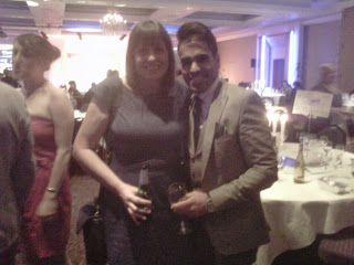 blog award 2013, me and Dr Ranj