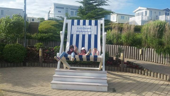 Star, Boo and the Little man in the deckchair 2017