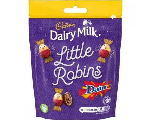 little robins daim bag of chocolates
