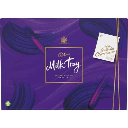 milk tray box of chocolates